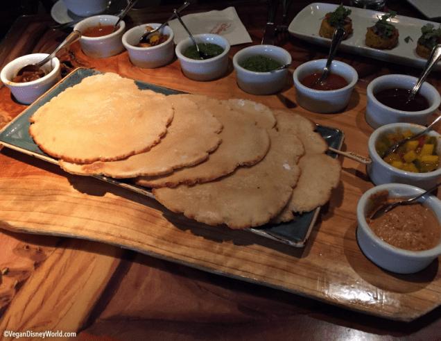 Vegan Indian Style Bread Service