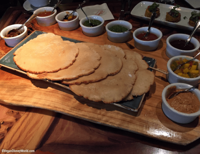 Vegan Indian Style Bread Service