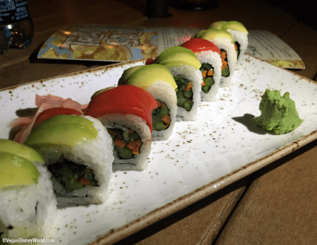 Vegetable Rainbow Roll