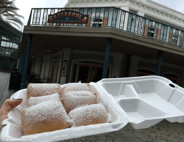 Vegan Beignets at Sassagoula Floatworks and Food Factory