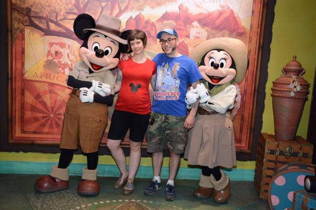 Mickey & Minnie Meet and Greet