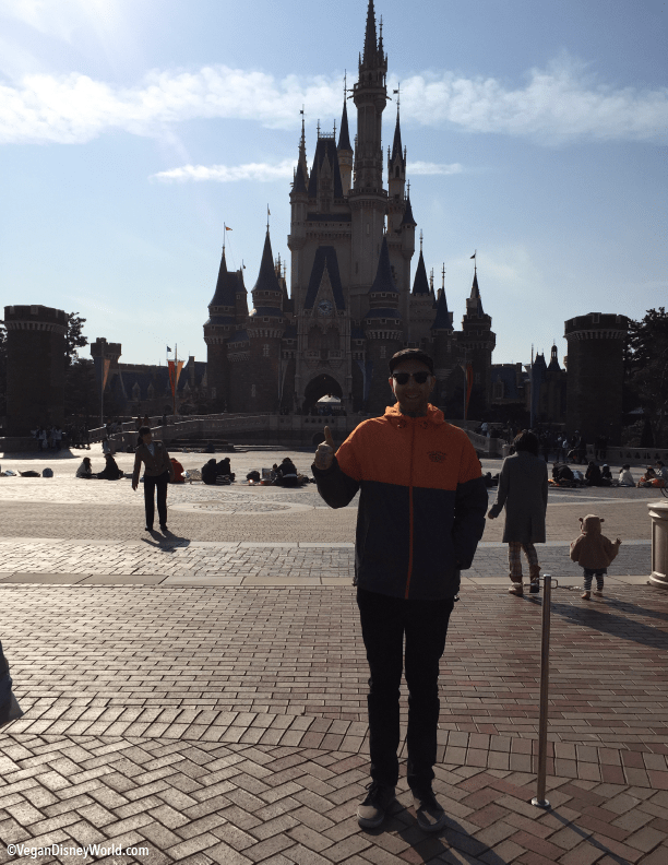 Corey at Cinderella's Castle