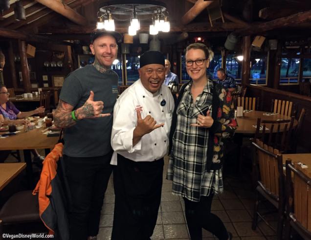 Corey, Chef TJ, Melissa