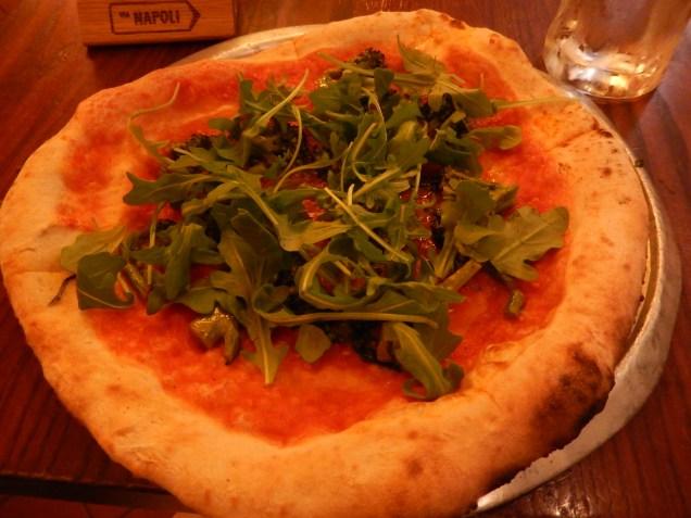 Pizza from Via Napoli