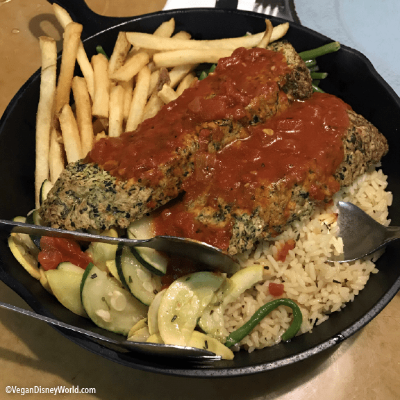The Garden Grill For Dinner Vegan Disney World