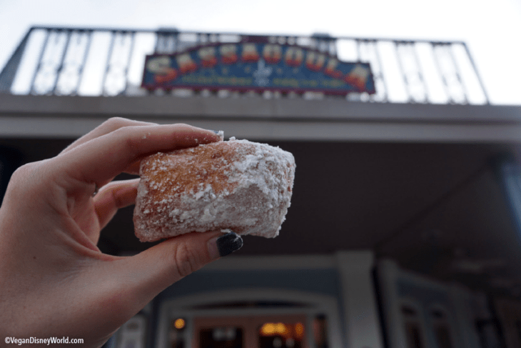 Vegan Beignet from Port Orleans French Quarter