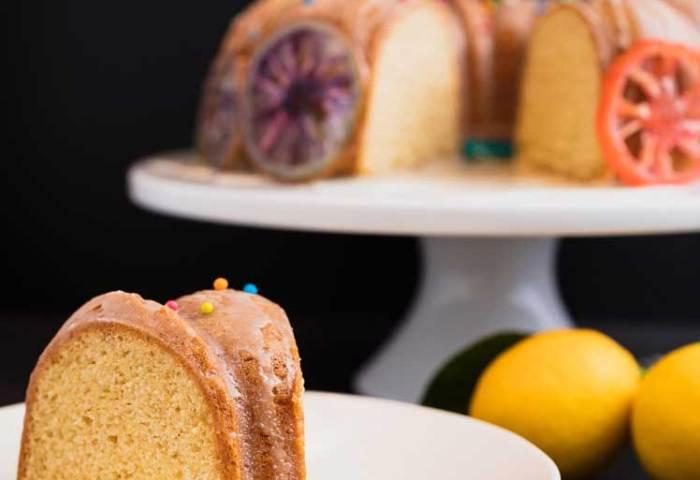 Vegan Dollhouse Vegan Lemon Cake