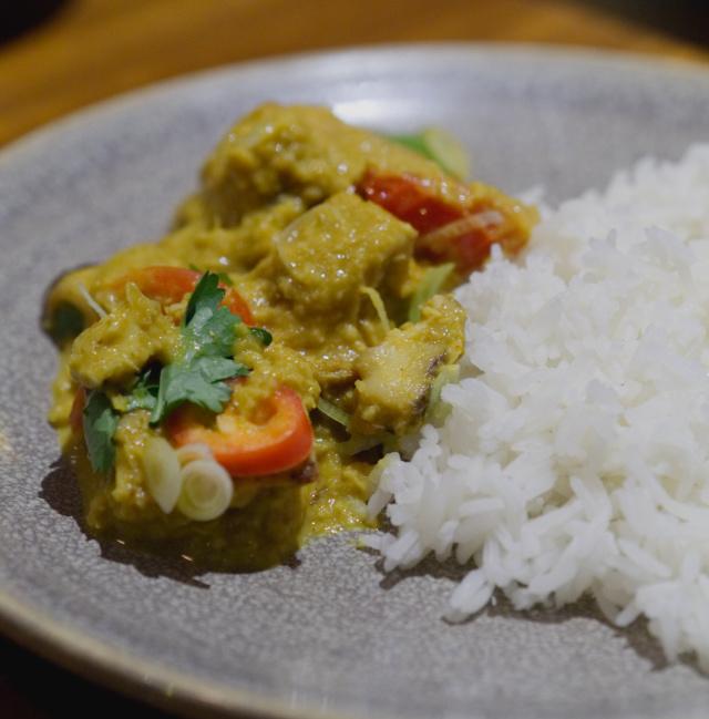 Yasai samla curry at Wagamama, Edinburgh