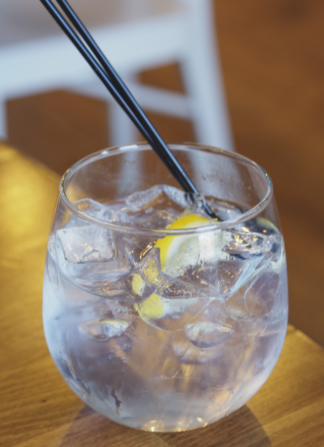 Gin and tonic at Zizzi Edinburgh