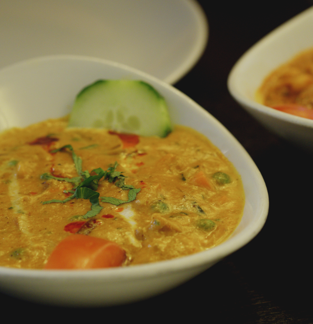 Vegetable Kurma at Tanjore Edinburgh