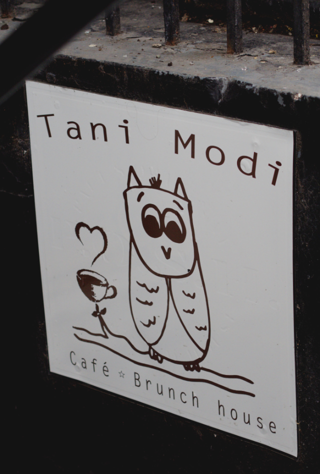 Tani Modi sign, Edinburgh
