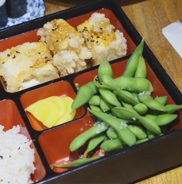 Bento Box at Tangs Edinburgh