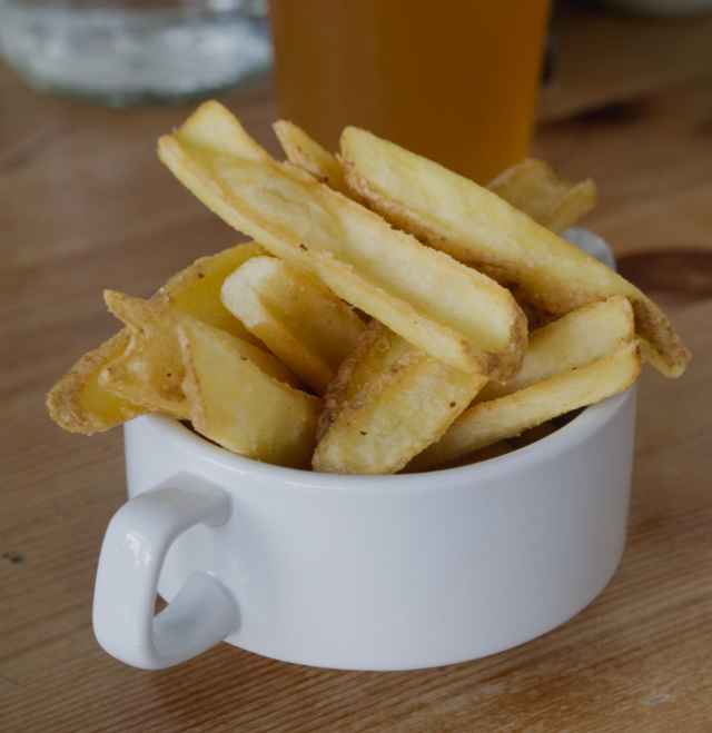Chips at Akva Edinburgh