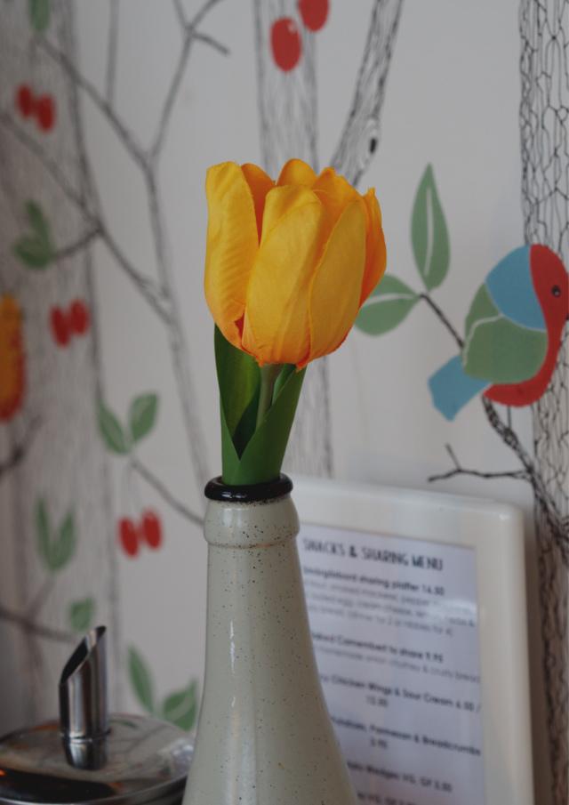 Flower at Akva Edinburgh
