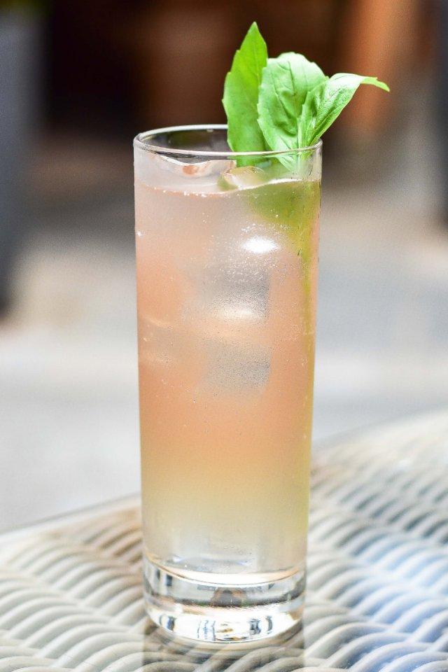 Vegan cocktails at Hotel du Vin Edinburgh