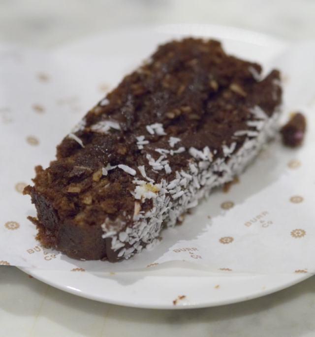 Chocolate Cake at Burr and Co Edinburgh