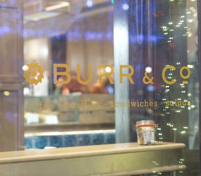 Burr & Co Window Edinburgh