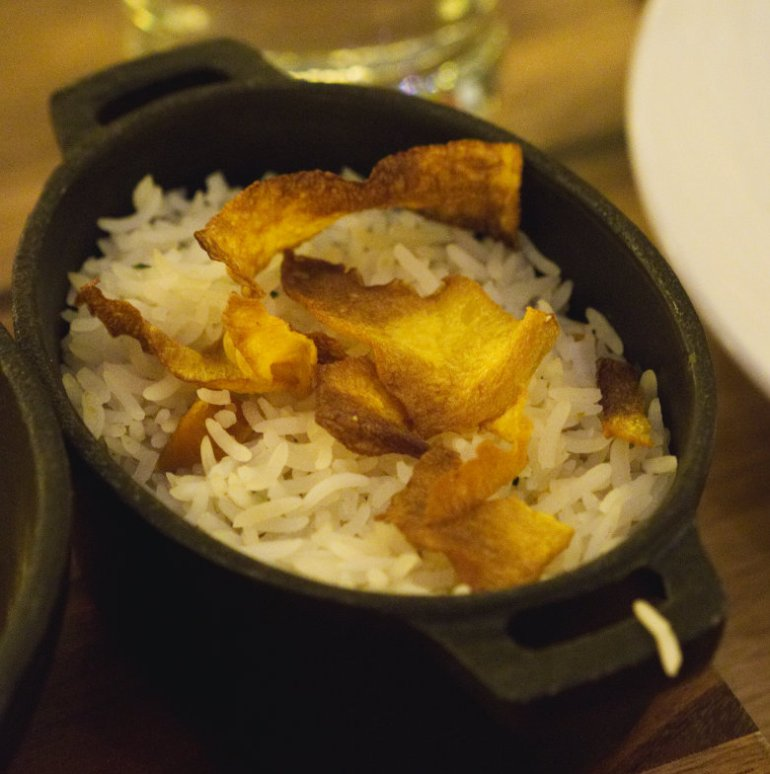 Rice at Fazenda Edinburgh