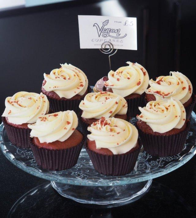 Bibi's vegan cupcakes
