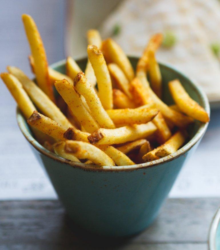 Vegan fries at Topolabamba Edinburgh