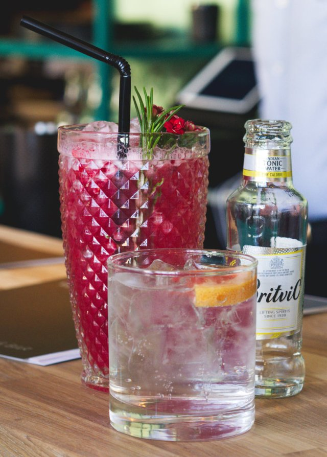 Vegan cocktails at Vesta, Edinburgh