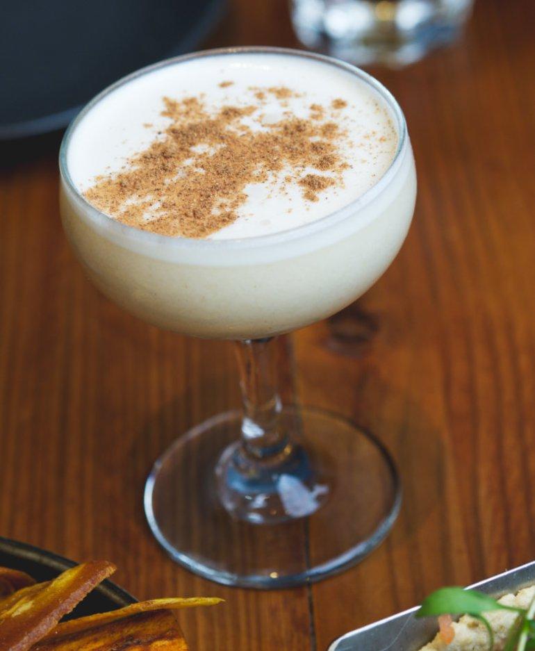 Vegan cocktail at El Cartel Edinburgh