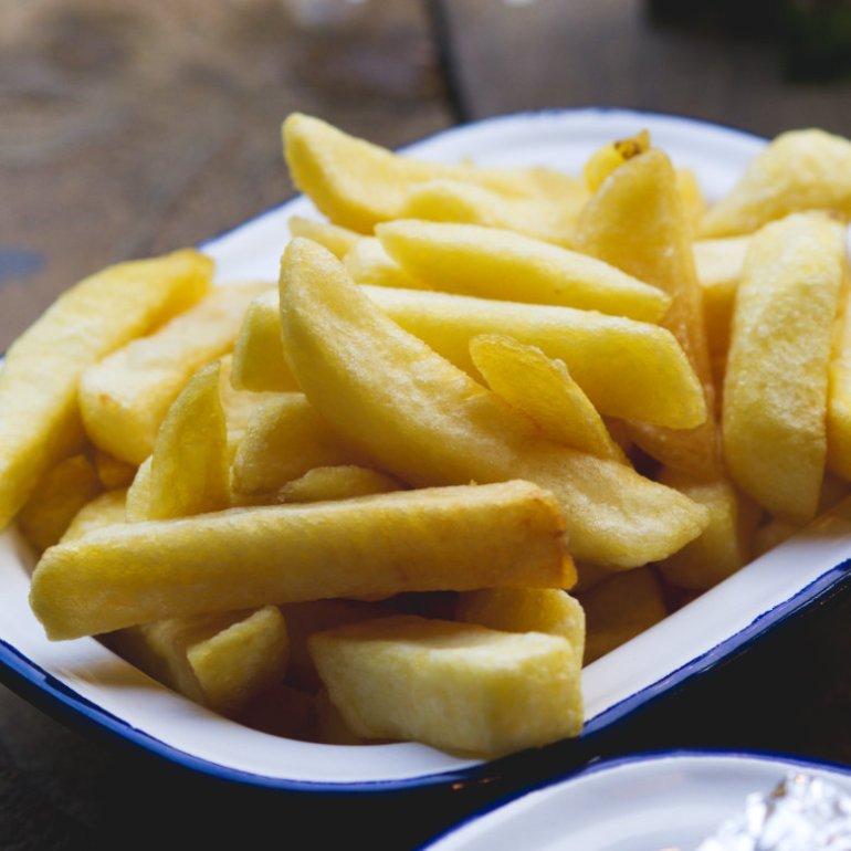 Chips at Karma Kebab, Edinburgh
