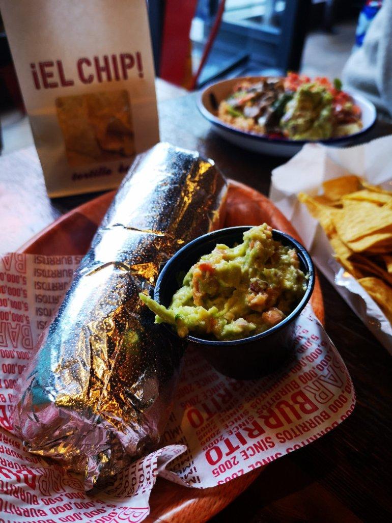 Vegan Burrito at Barburrito, Edinburgh