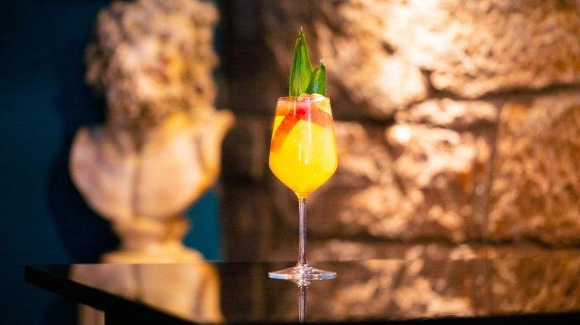 Vegan cocktail at Dragonfly, Edinburgh