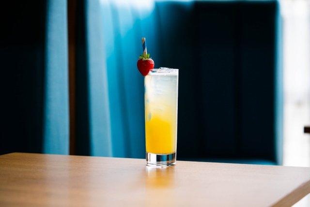 Vegan cocktail at Monboddo, Edinburgh