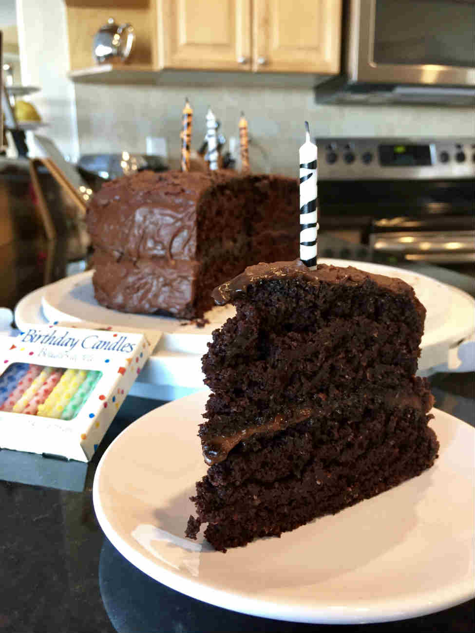 Vegan Chocolate Zucchini Cake - No Oil, Whole Wheat
