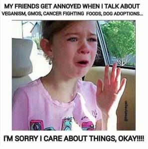 I'm sorry I care