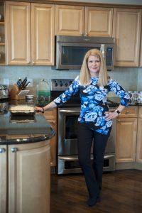 Jeanette in kitchen