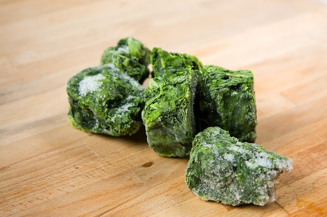 Image of Frozen Spinach Cubes