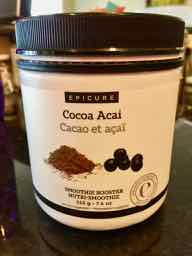 Epicure Cocoa Acia Smoothie Booster