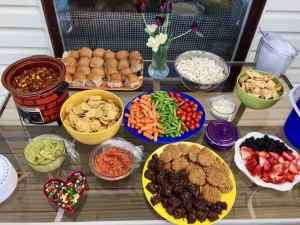 Vegan Party Spread