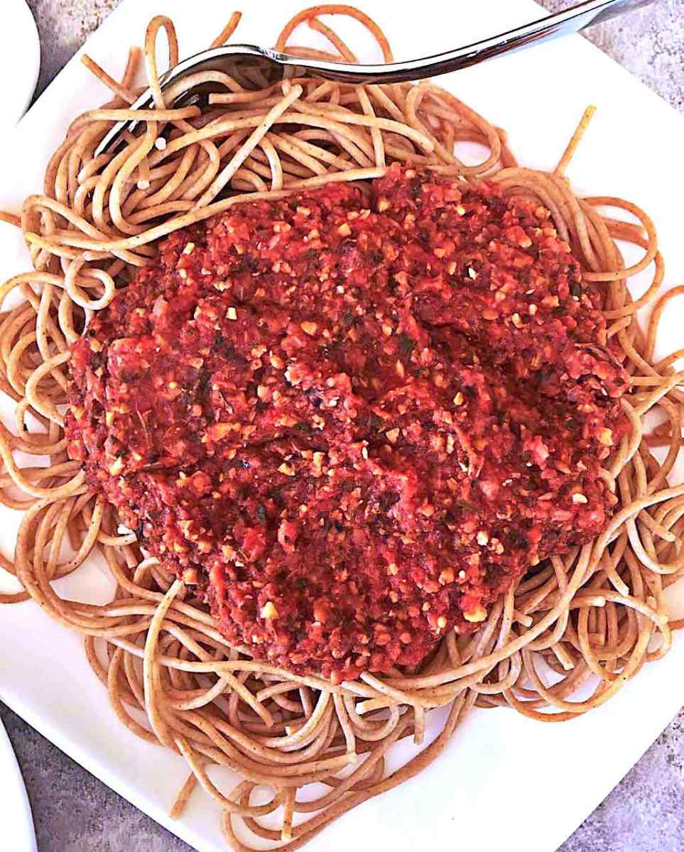 Meatless Marinara Sauce With Protein