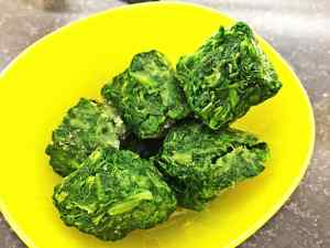 Frozen Spinach Nuggets
