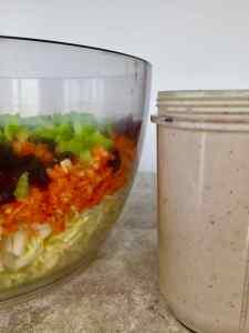healthy vegan coleslaw dressing low-fat