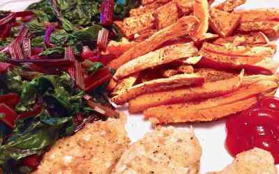 *Sweet* Sweet Potato Fries – wfpb no-oil
