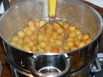 Kirschpflaumen dampfentsaften