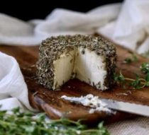 Vegan herbes de Provence cheese for Vegan Christmas