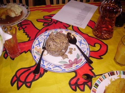 Vegan Haggis on Burns Night