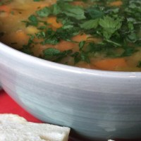 Vegan Lentil Bacon Soup #plantbased