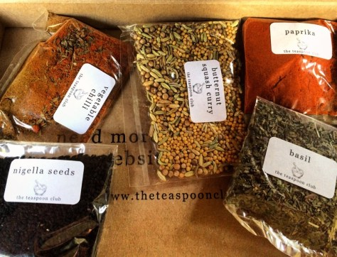 spices from The Teaspoon Club
