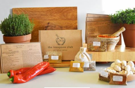 Vegan Recipes Spice Gift Box