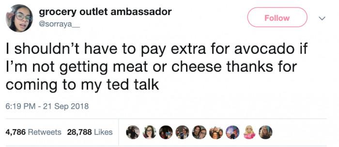 vegan tweet