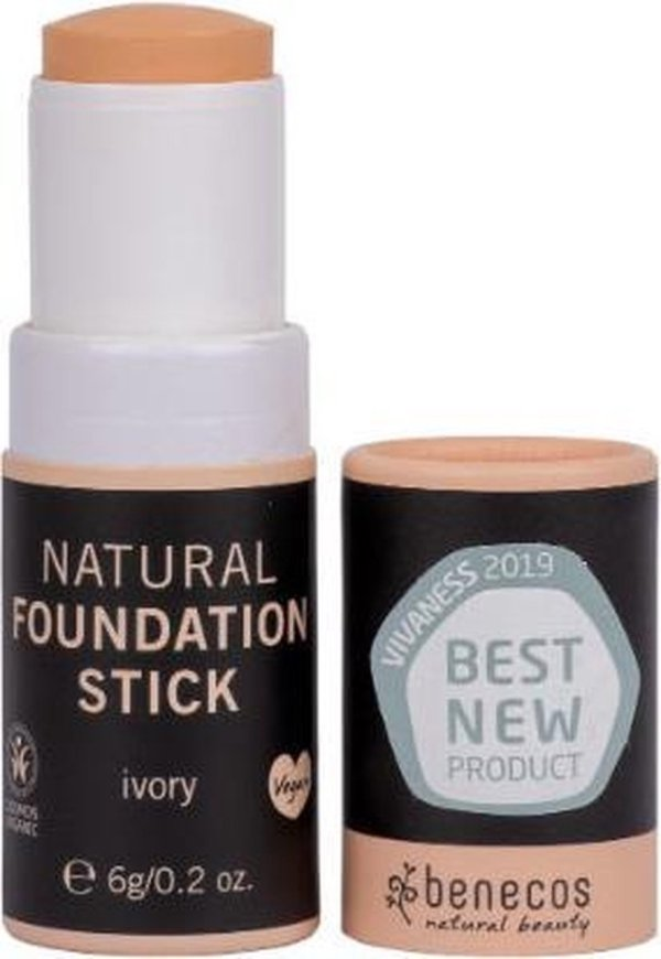 Benecos Natural Foundation Stick Ivory (Vegan)