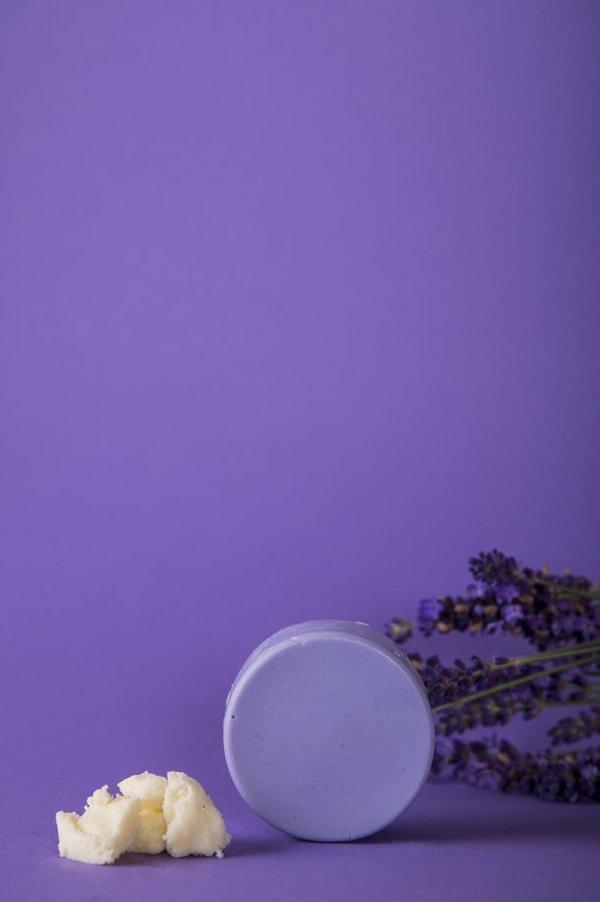 HappySoaps Conditioner Bar- Lavender Bliss - Vegan -plasticvrij- palmolievrij- dierproefvrij- 65 gram