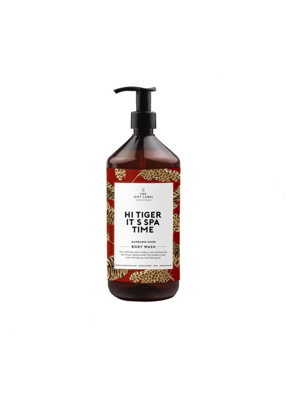 The Gift Label Hi Tiger It's Spa Time - Mandarin musk Body Wash - douchegel